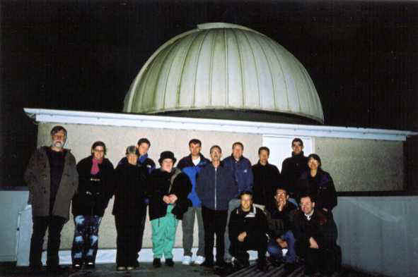 ADAS visit to the University of St. Andrews Observatory